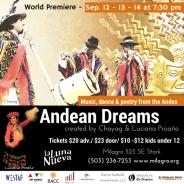 Andean Dreams: Meet the talent