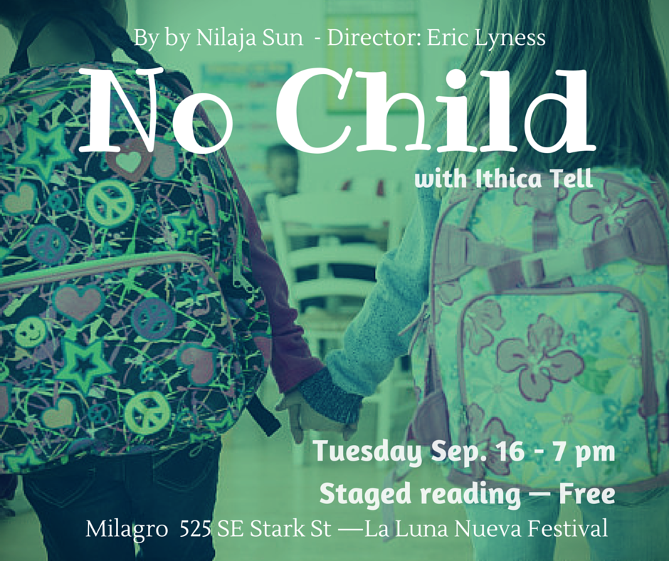 No Child:the talent behind the FREE staged reading