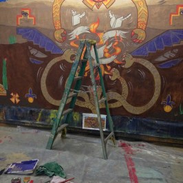 Now you get the picture: Aztlán backdrop