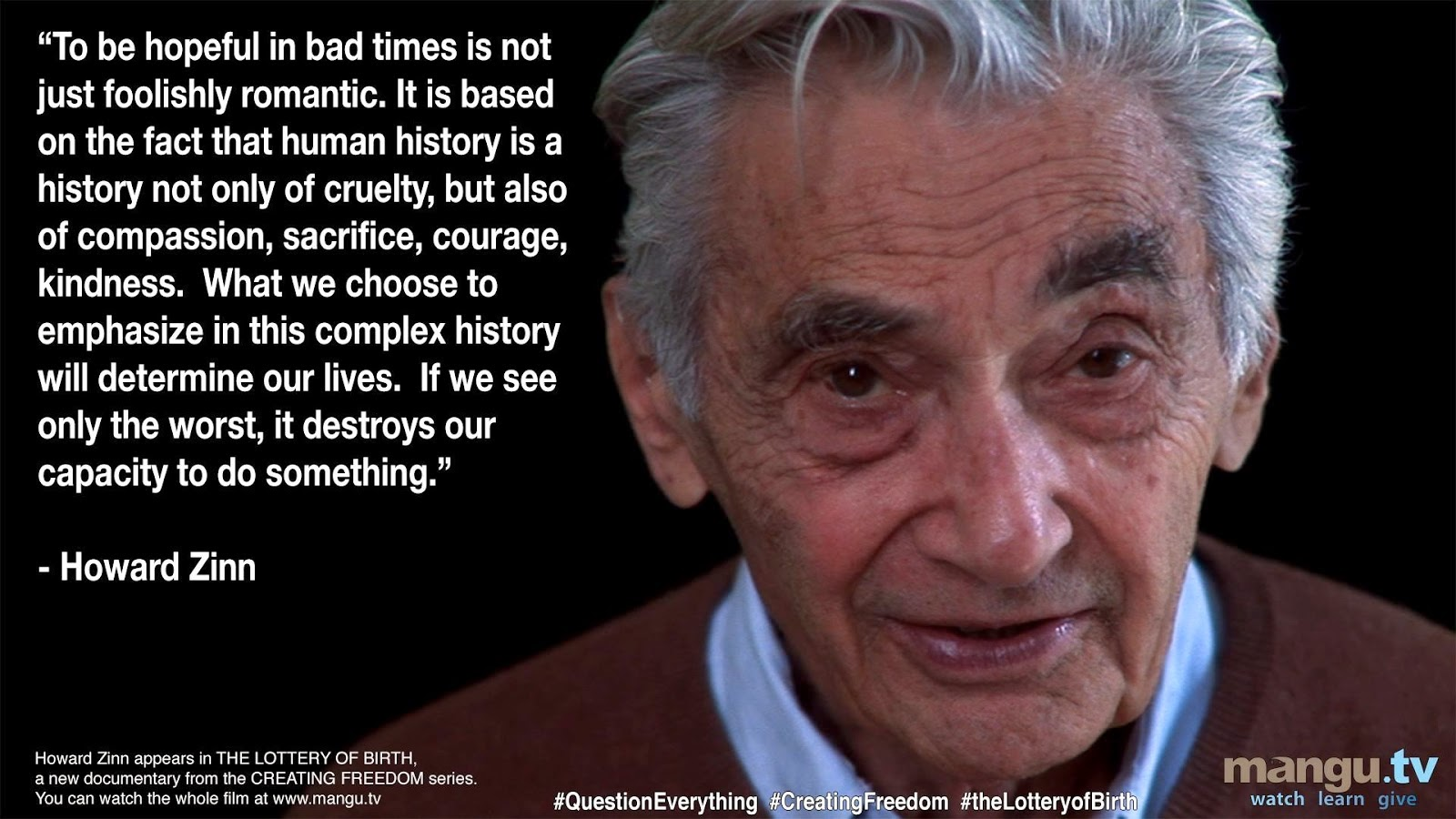 zinn the impossible victory