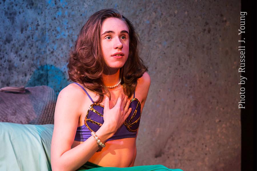 Jaryn Lasentia as Vi, The Mermaid Hour
