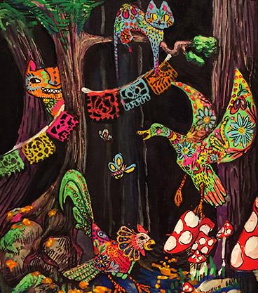 Alebrijes art by Xaramar Floyd