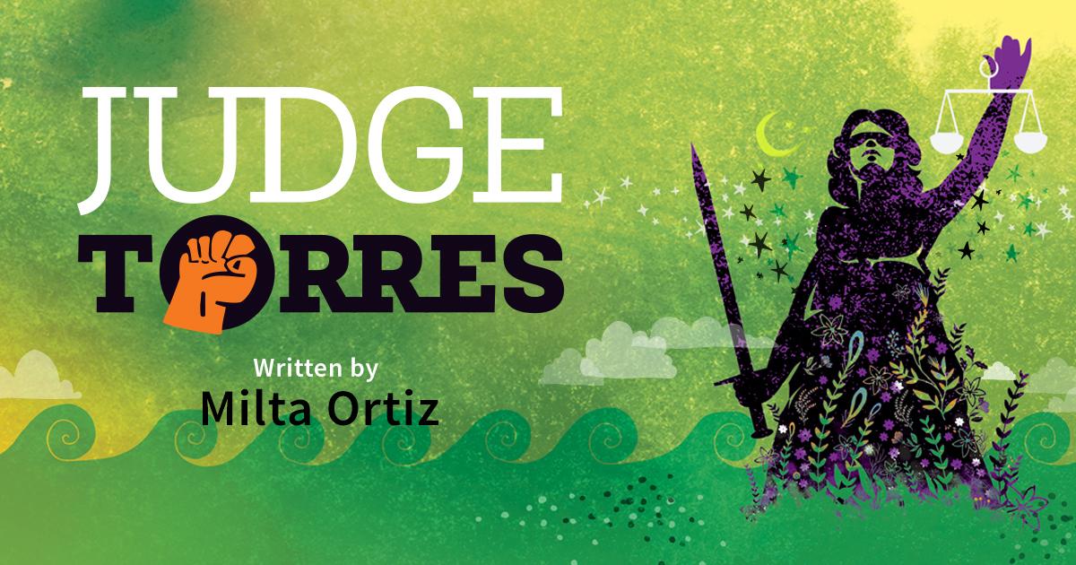 Judge Torres by Milta Ortiz